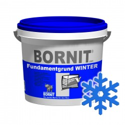 Grunt Bornit Fundamentgrund Winter